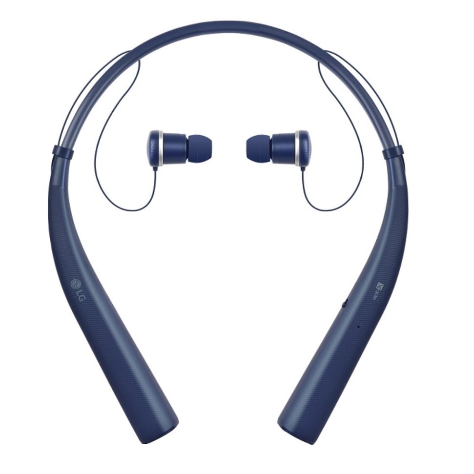 Shop Lg Tone Pro Hbs 780 Wireless Stereo Headset Matte Blue Overstock 25744504