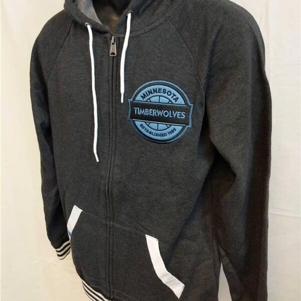 Shop Minnesota Timberwolves Mens S Small Adidas Original Hoodie