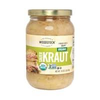Woodstock Organic Sauerkraut - Case of 12 - 16 oz.