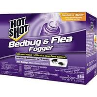 Spectrum Brands 106021 Hot Shot Bedbug And Flea Fogger 3-2 Oz Units