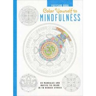 Color Yourself To Mindfulness Postcards - Cico Books