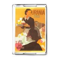 Switzerland - Urania (artist: Koella c. 1951) - Vintage Advertisement (Acrylic Serving Tray)