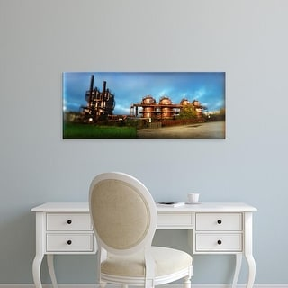 Easy Art Prints Panoramic Images's 'Old oil refinery, Gasworks Park, Seattle, King County, Washington State' Canvas Art