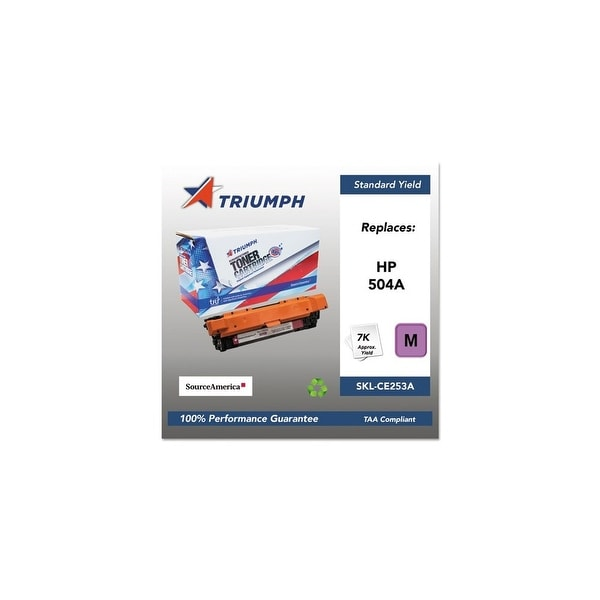 Triumph Remanufactured 504A Toner Cartridge - Magenta Toner Catridge
