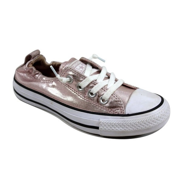 Converse Women  x27 s Chuck Taylor All Star Shoreline Ox Rose Quartz White f6e762a94