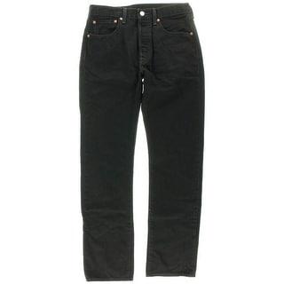 Levi's Mens Denim Classic-Rise Straight Leg Jeans - 32/32