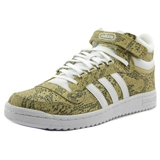 Adidas Concord 2.0 Mid Men Round Toe Leather Tan Sneakers