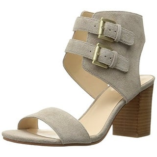 Nine West Women's Galiceno Suede Heeled Sandal