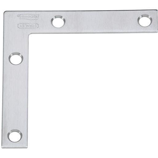 National Mfg. 3X1/2 Ss Flat Brace N348-334 Unit: EACH