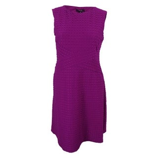 Style & Co. Women's Jacquard Flare Dress - 14