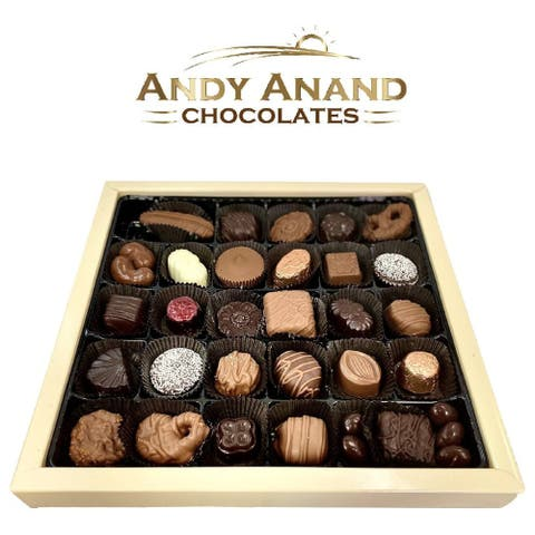 Andy Anand Belgian Chocolate & Truffles 35 pcs Amazing-Delicious Gift Boxed