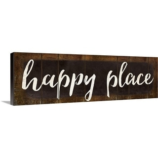 """""""Happy Place"""" Canvas Wall Art"""