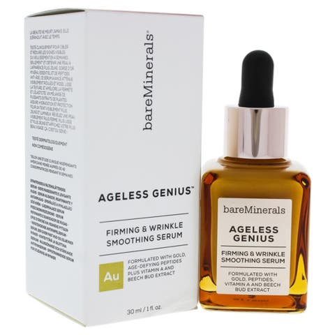 Ageless Genius Firming And Wrinkle Smoothing Serum By Bareminerals For Women - 1 Oz Serum