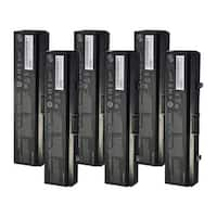 Replacement 4400mAh Battery For Dell 451-10529 / 612-0663 Battery Models (6 Pack)