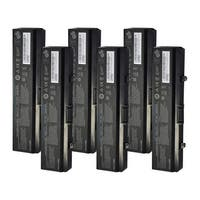 Replacement 4400mAh Battery For Dell D608H / GW252 Battery Models (6 Pack)