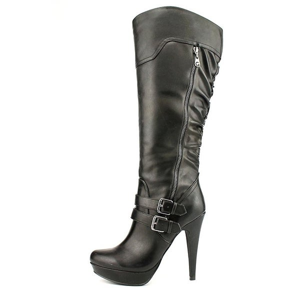 G by Guess Womens Danjer Closed Toe Knee High Fashion Boots