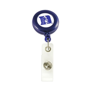 Duke Blue Devils Retractable Badge Reel Id Ticket Clip NCAA