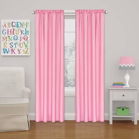 Eclipse Kids Polka Dots Room-Darkening Window Curtain Panel