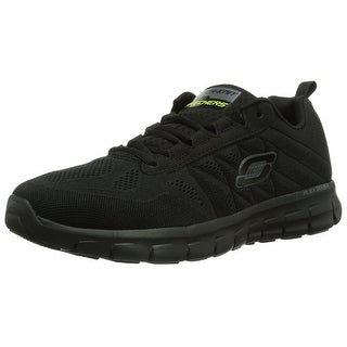 Skechers Synergy Power Switch Mens Running Shoes Black