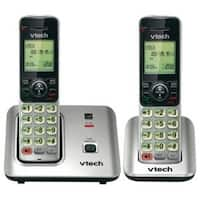 QZ6215 CS6619-2 Two Handset Cordless Phone with Caller ID-Call