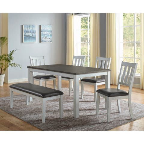 The Gray Barn Raelynn 6-Piece Farmhouse Dining Set
