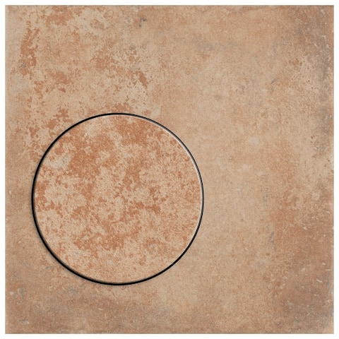 "SomerTile Americana Boston East 8.75"" x 8.75"" Porcelain Floor and Wall Tile"