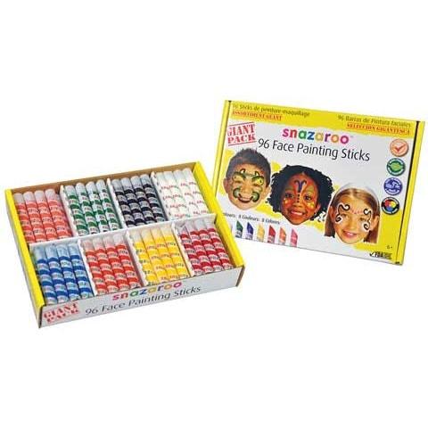 Snazaroo - Face Painting Sticks Set - 6-Color Halloween Set