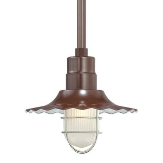 "Millennium Lighting RRWS12 R Series 1 Light 12"" Wide Outdoor Shade (More options available)"