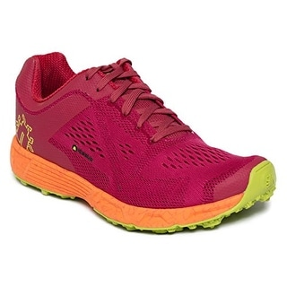 Icebug Women's DTS3 RB9X Traction Running Shoe - raspberry/neon orange