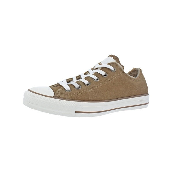 Converse Womens Chuck Taylor All Star Suede+Shea Skate Shoes Suede Low-Top - 1a8f9fed7