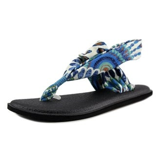 Sanuk Yoga Sling 2 Open Toe Canvas Thong Sandal