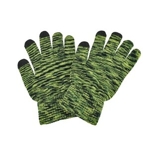 Smartphone Touchscreen Acrylic Winter Gloves With Heat Reactive Tips
