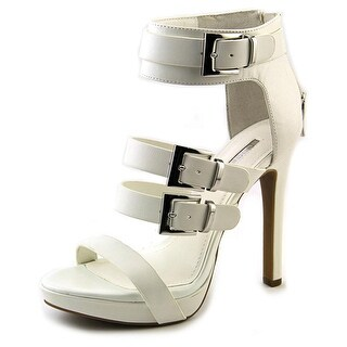 BCBGeneration Gracie Women Open Toe Leather Platform Heel