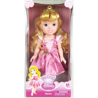 "13"" Disney Princess Toddler Doll - Aurora (Styles May Vary)"