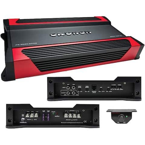 Crunch Powerzone 2 X 875 @ 4 Ohms 2 X 1750 @ 2 Ohms 1 X 3500 Watts @ 4 Ohms Bridged