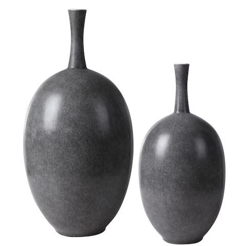 Uttermost Riordan Modern Vases (Set of 2)