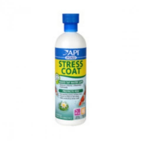 API 140B PondCare Stress Coat Water Conditioner, 16 Oz