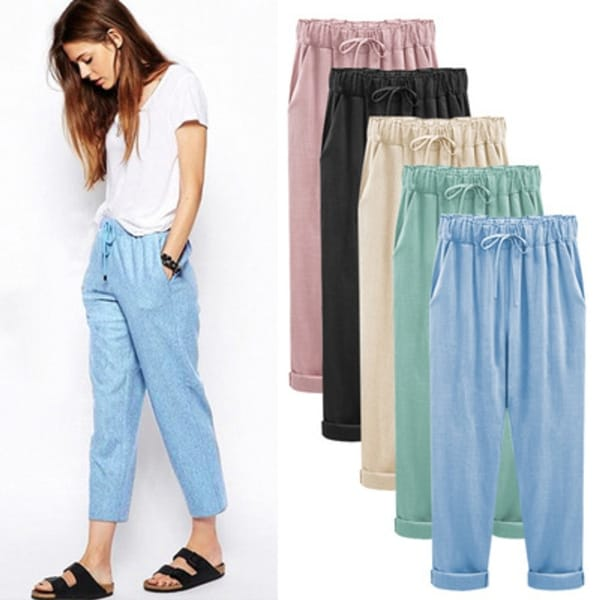 Casual Joggers, S-5X, Multiple Colors. Opens flyout.