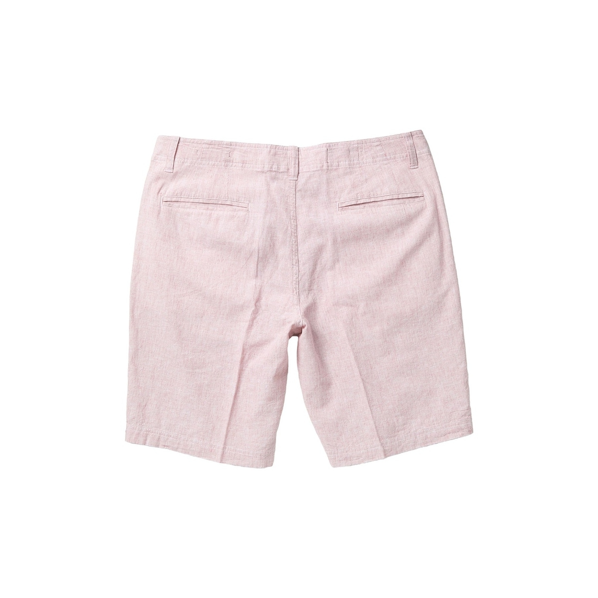 Wallin & Bros Mens Shorts Red Size 30 Khakis Chinos Linen Flat-Front - On  Sale - Overstock - 32430630