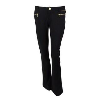 INC International Concepts Women's Zip Pocket Ponte Pants