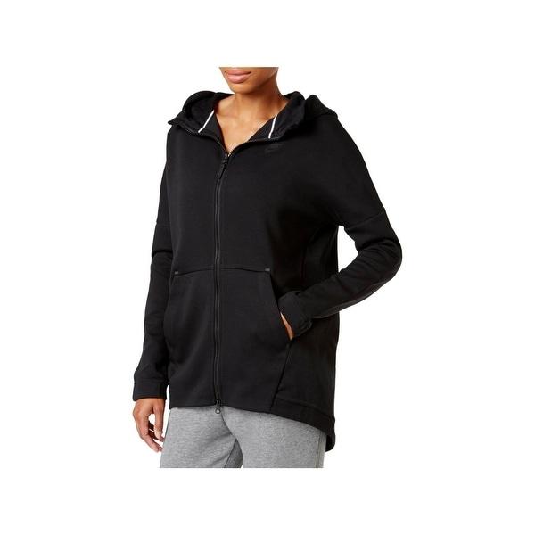 the latest 8e523 c367f Shop Nike Womens Hoodie Fleece Knit Cape Hoodie - XS - Free ...