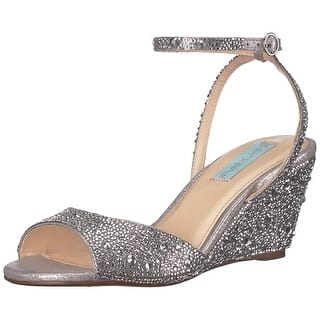 7dbb908e142 Silver Betsey Johnson Women s Shoes