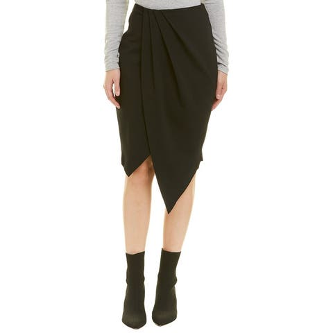 Finders Pleated Wrap Skirt