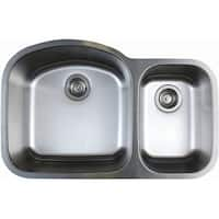 "Blanco 441022 Stellar 1.6 Double Basin Stainless Steel Undermount Kitchen Sink 31 3/4"" x 20 1/2"" - refined brushed - n/a"
