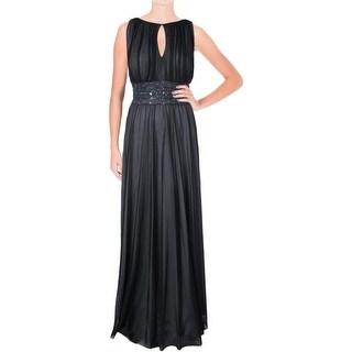 Jessica Howard Womens Embellished Prom Evening Dress