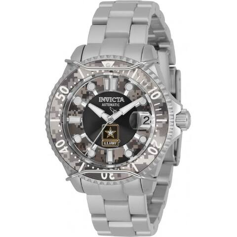Invicta Women's 31855 'U.S. Army' Pro Diver Stainless Steel Watch - Multi