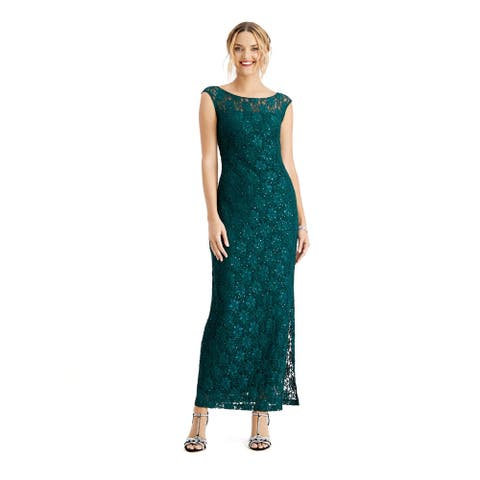 CONNECTED APPAREL Green Sleeveless Maxi Dress 10