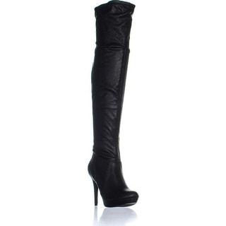 Thalia Sodi Womens Beckie Closed Toe Over Knee Fashion Boots