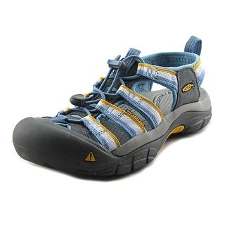 Keen Newport H2 Women Round Toe Canvas Blue Sport Sandal