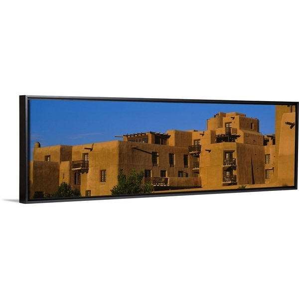 Canvas Santa Fe >> Shop Floating Frame Premium Canvas With Black Frame Entitled Hotel